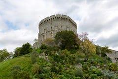 圆的塔,温莎城堡 免版税库存照片