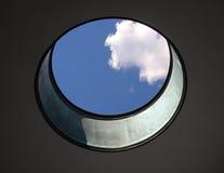 圆的天窗 库存图片