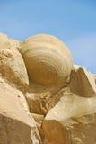圆的岩石 免版税库存照片