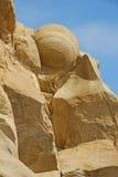 圆的岩石 库存照片