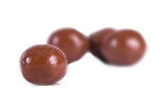 圆的巧克力 免版税库存图片