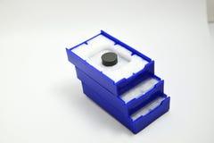 圆的插入物切口 免版税库存照片
