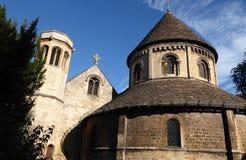 圆的教会,剑桥 免版税库存照片