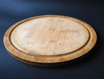 圆的木切板 免版税库存图片