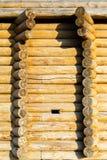 圆的木材 免版税库存图片