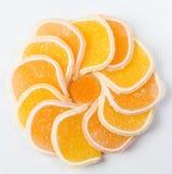 圆的果冻糖果 图库摄影