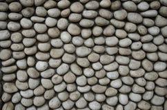圆的石头路 免版税库存图片