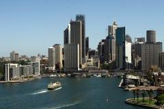 圆的码头悉尼 库存照片