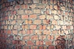 02圆的砖 免版税库存照片