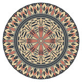 圆的种族样式 免版税图库摄影