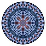 圆的种族样式 免版税库存图片
