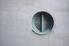 圆的窗口 库存图片