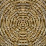 圆的竹子 免版税图库摄影