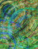 圆的纹理 向量例证