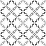 圆的线的无缝的样式 几何墙纸 异常的la 免版税库存图片