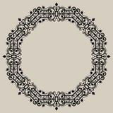 圆的葡萄酒框架 皇族释放例证