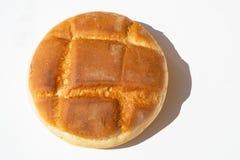 圆的被烘烤的美丽的面包 库存图片