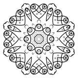 圆的装饰框架 库存照片