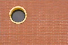 圆的视窗 库存照片