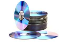 圆盘堆 免版税图库摄影