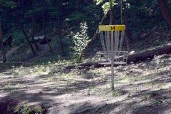 圆盘高尔夫球 免版税库存图片