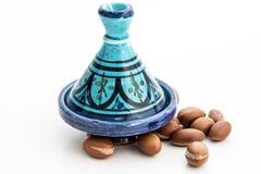 圆筒芯的灯种子在Tajin 免版税库存图片