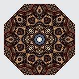 圆装饰品 向量 免版税库存照片