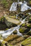 圆锥形小屋在弗吉尼亚落,美国蓝岭山脉  免版税库存图片