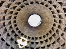 圆顶万神殿罗马 免版税库存照片