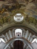 从圆顶上面的一个看法  免版税库存照片