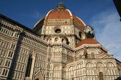 圆顶中央寺院佛罗伦萨意大利 库存照片