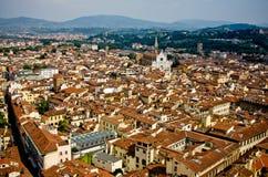 圆顶佛罗伦萨视图 免版税库存图片