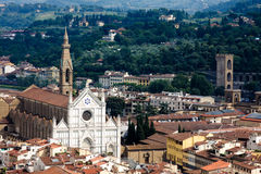 圆顶佛罗伦萨视图 免版税图库摄影