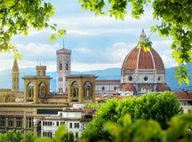 圆顶佛罗伦萨 免版税图库摄影