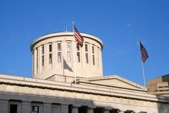 圆顶俄亥俄州议会议场 免版税库存照片