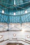 圆顶内部结构在老塔的 免版税库存照片