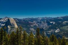 圆顶半国家公园优胜美地 免版税图库摄影