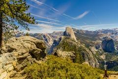 圆顶半国家公园优胜美地 免版税库存照片