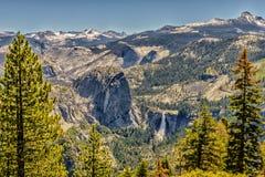 圆顶半国家公园优胜美地 免版税库存图片