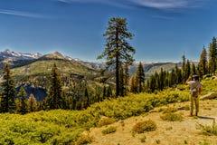 圆顶半国家公园优胜美地 图库摄影