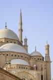 圆顶和尖塔在开罗 库存图片