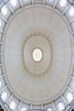 圆顶在卡默利特平纹薄呢教会里 库存照片