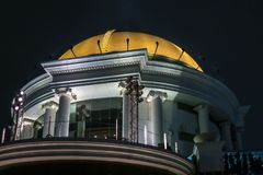 圆顶在曼谷在泰国 免版税库存图片