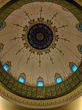 圆顶在清真寺Masjid 免版税图库摄影
