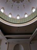 圆顶在清真寺Masjid 免版税库存照片