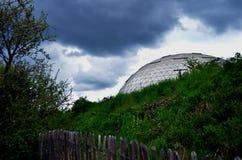 圆顶在雨中 免版税库存照片