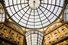 圆顶场所意大利米兰 免版税库存图片