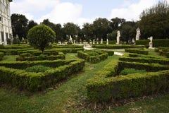 圆顶场所的Borghese罗马Ital庭院 库存照片
