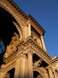 圆顶场所维托里奥Emanuele II 免版税图库摄影
