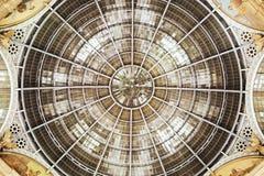 圆顶场所维托里奥Emanuele II 免版税库存图片